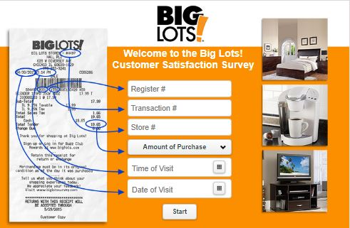 BigLots.com Customer Care Survey