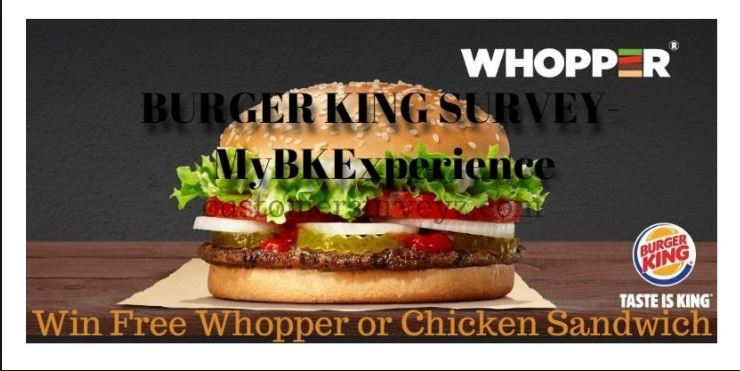 burger king feedback survey