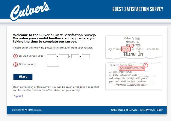 Culvert's Customer feedback Survey