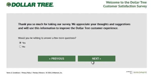 Dollar Tree Customer Satisfaction Survey | Win $1000 Daily