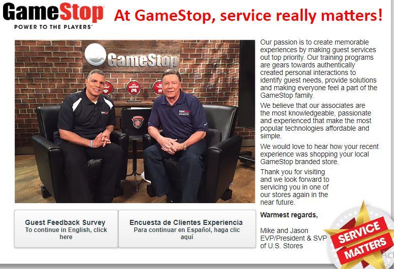 GameStop Survey | All Survey And Feedbacks