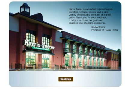 Harris Teeter Customer Satisfaction Survey