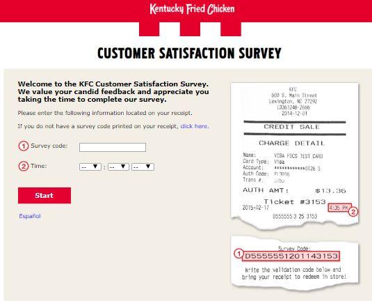 KFC Customer Satisfaction Survey
