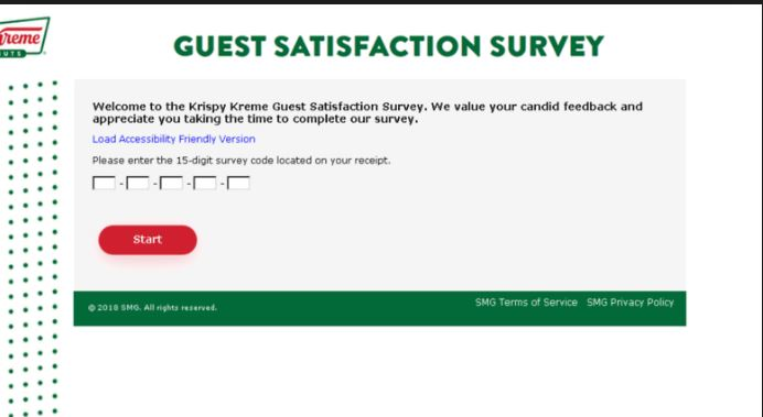 Krispy Kreme Listens Customer Satisfaction Survey