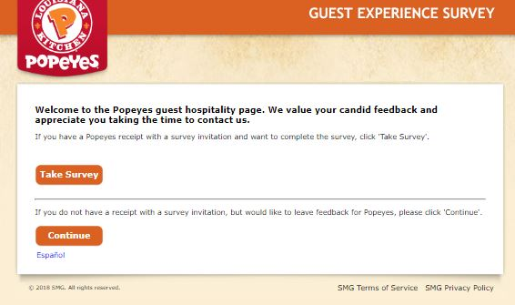 Popeyes Receipt Survey Offers Free 2-Piece Chicken and Biscuit with