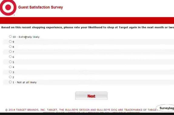 target survey