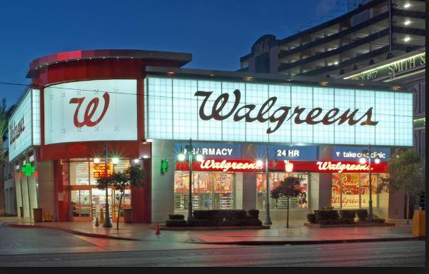 Walgreen receipt