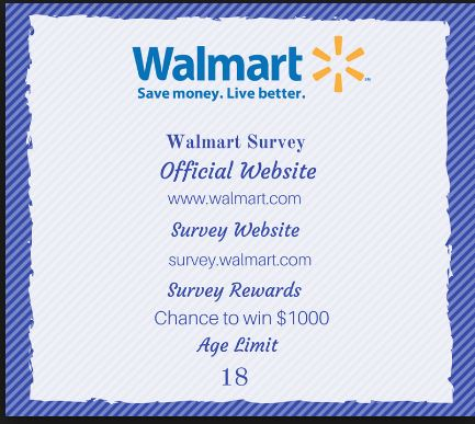 Walmart Customer Satisfaction Survey