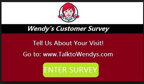 Talk To Wendy's Customer Satisfaction Survey ,