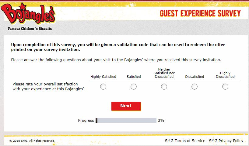 bojangles customer service