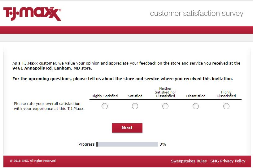 Tell T.J. Maxx Feedback in Customer Survey to Win $500 Gift Card .