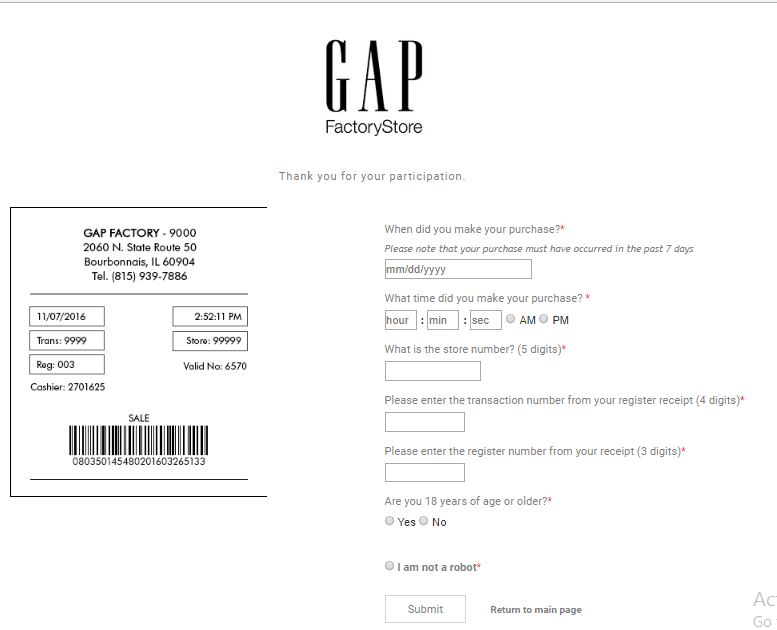 gap factory store calgary locations