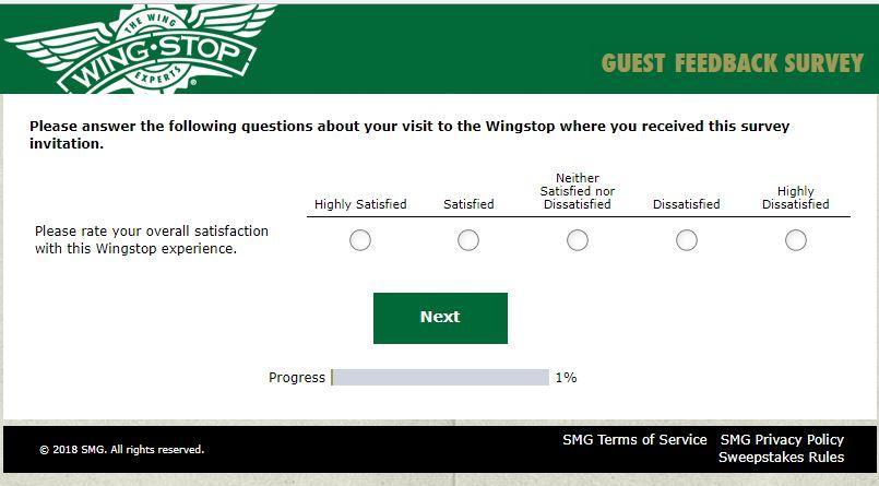 Wingstop Restaurants customer service