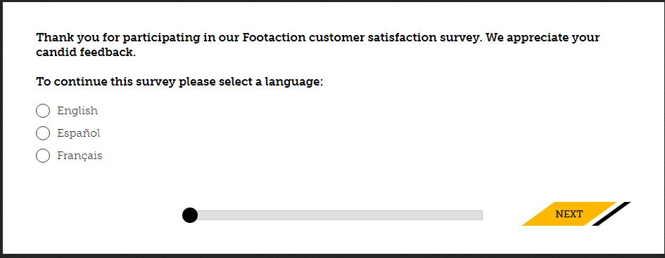 footactionsurvey.com Footaction Customer Survey $10 off a Purchase