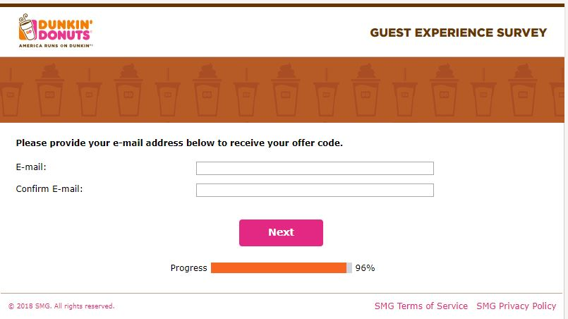dunkin donuts customer care