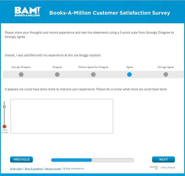 Books-A-Million Customer Satisfaction Survey