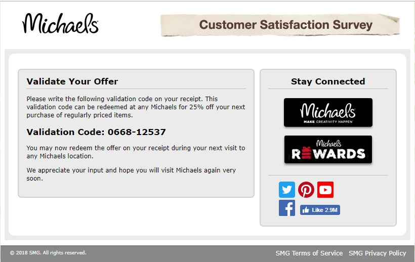 Michaels Stores Customer Service, Complaints and Reviews
