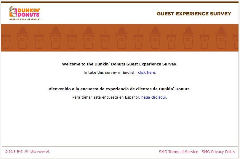 dunkin donuts feedback