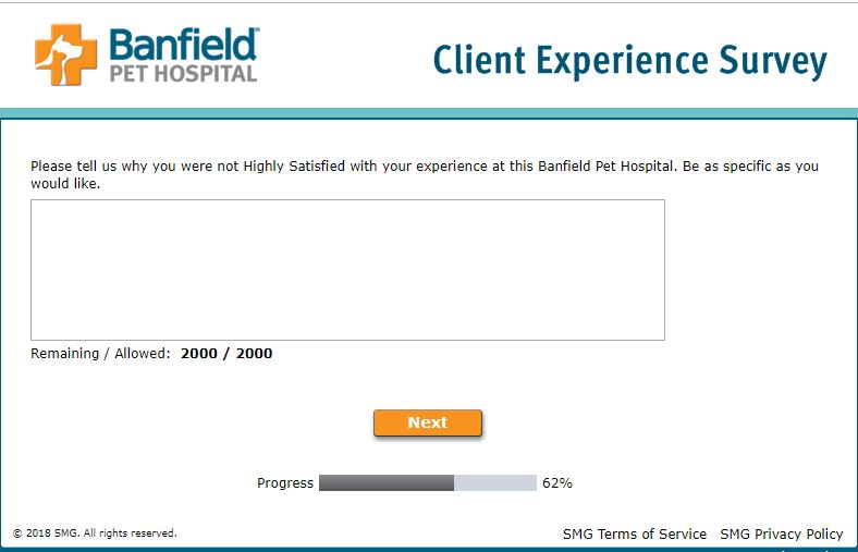 Privacy Policy - Banfield Pet Hospital Client Experience Survey