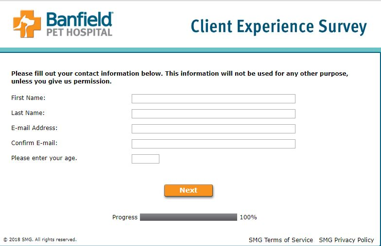 Sweepstakes Rules - Banfield Pet Hospital Client Experience Survey