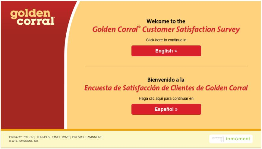 golden corral customer service