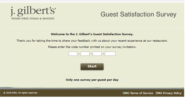 j gilbert's coupon