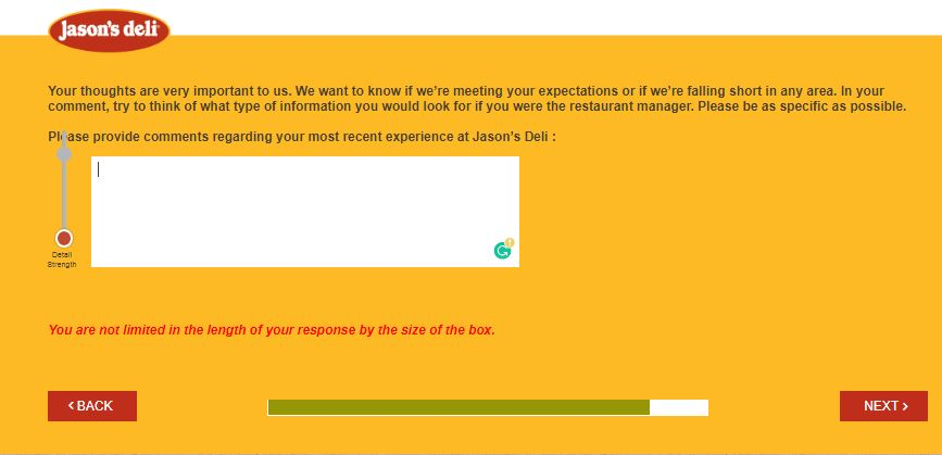 jason's deli customer feedback
