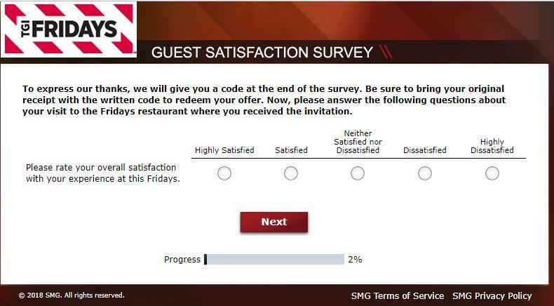 tgi fridays customer service complaints uk