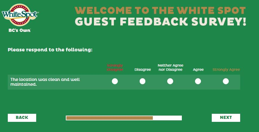 talktowhitespot.ca – Talk to White Spot Survey - Survey Listens