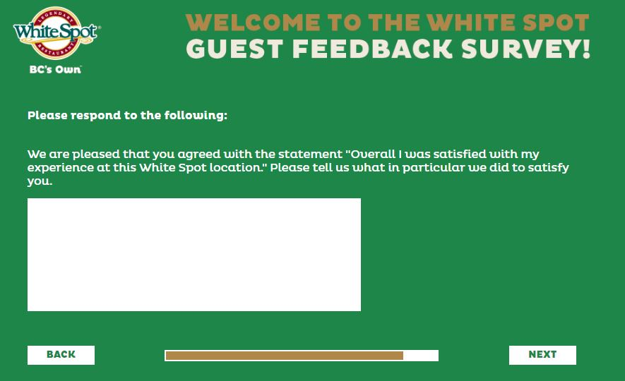 white spot customer service