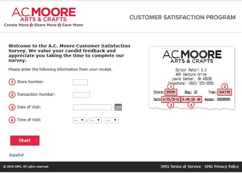 ac moore customer service