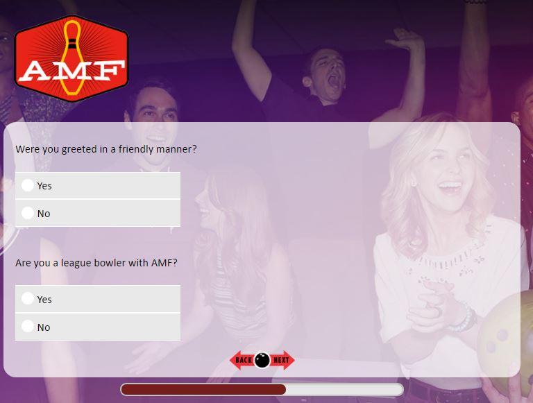 AMF Bowling Centers Customer Satisfaction Survey