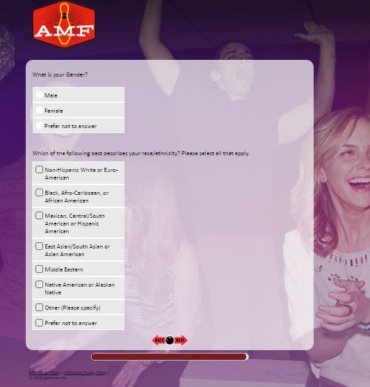 AMF Bowling Customer Satisfaction Survey - www.amfsurveys.com