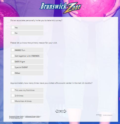 brunswick zone customer service
