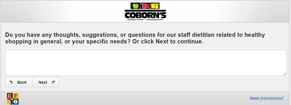 Coborn's Customer Satisfaction Survey - www.mycobornsfeedback.com