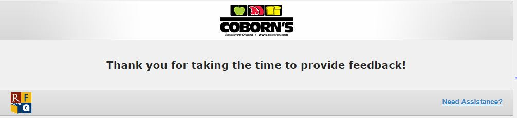 Coborn's Customer Satisfaction Survey 2018 - Customer Survey and ...