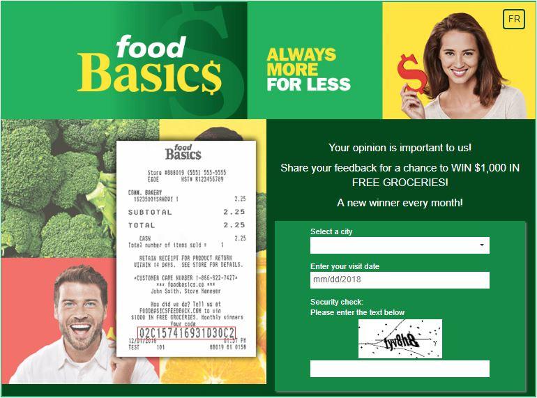 food basics feedback