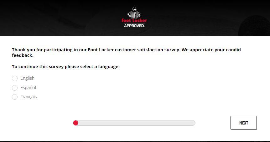 foot locker customer satisfaction survey