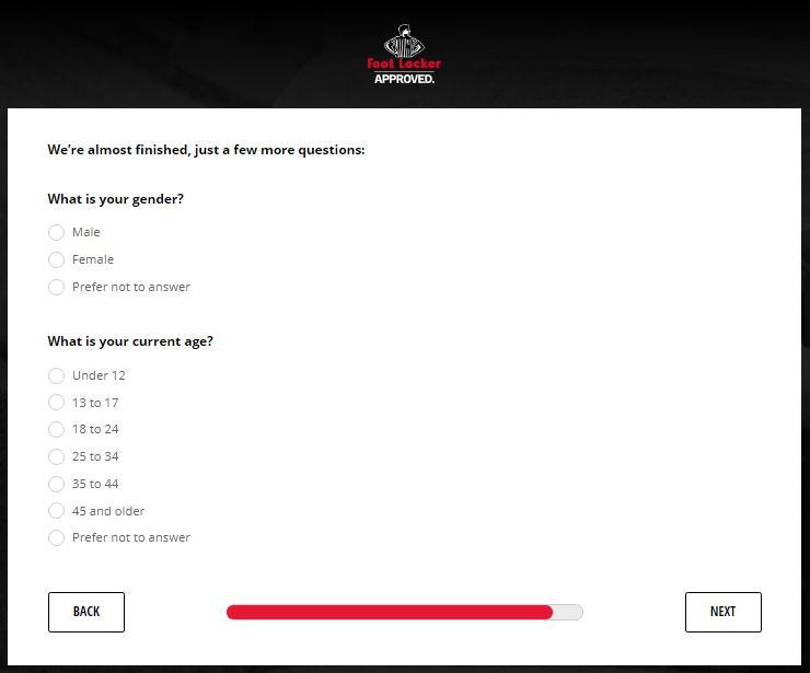 foot locker customer service review