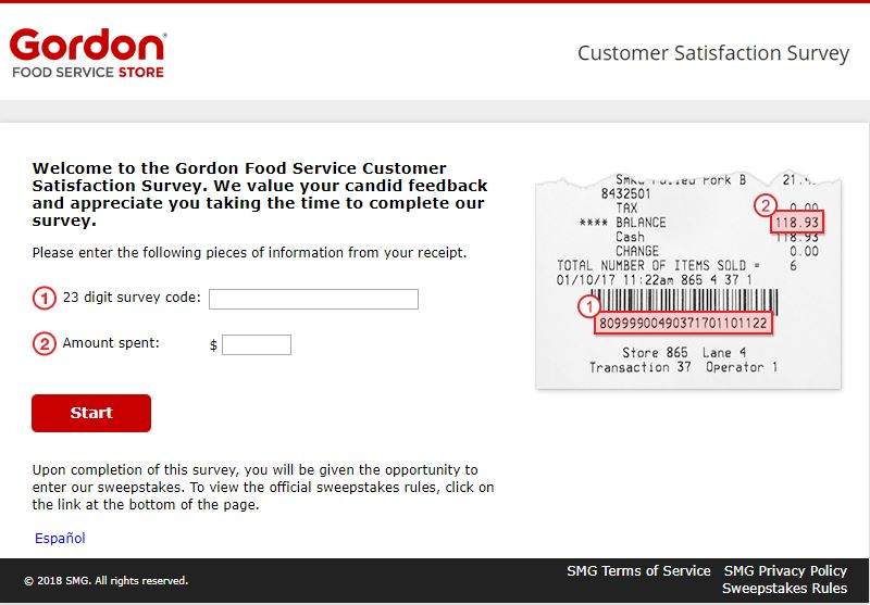 food service survey