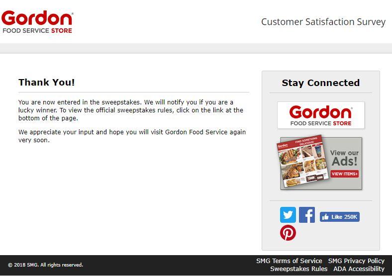 gordon food service miami fl