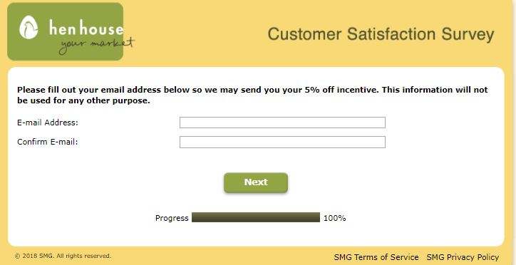 Hen House Customer Satisfaction Survey | www.HenHousefeedback ...