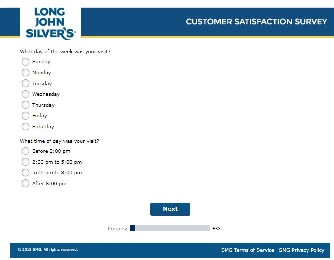 long john silvers rewards