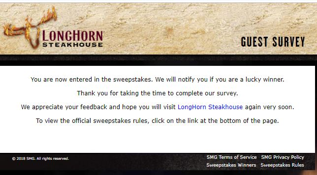 longhorn steakhouse coupon