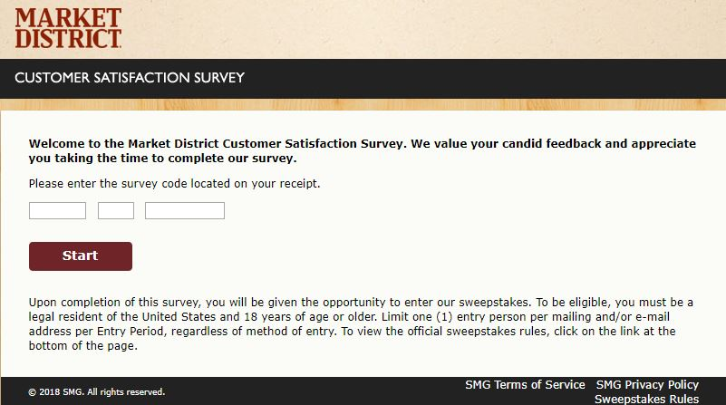 market district survey