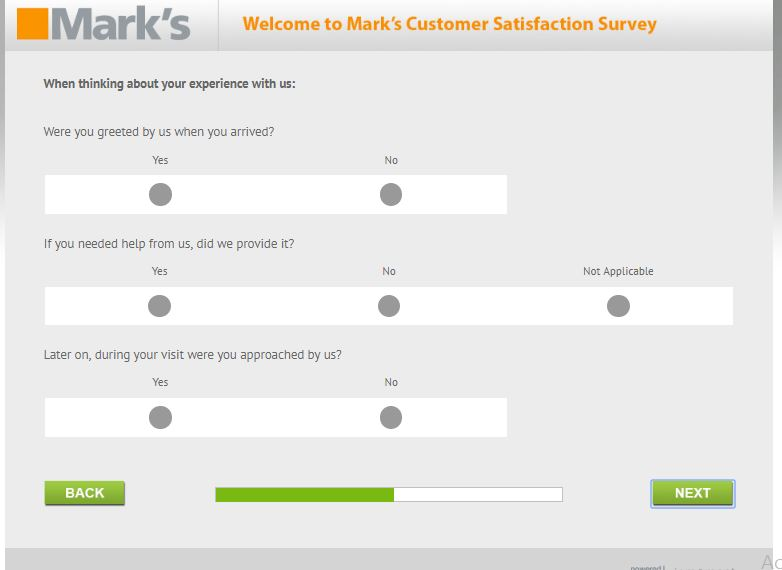 www marks survey com canada