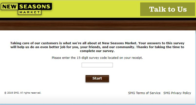 new seasons market survey,