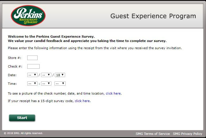 perkins guest survey