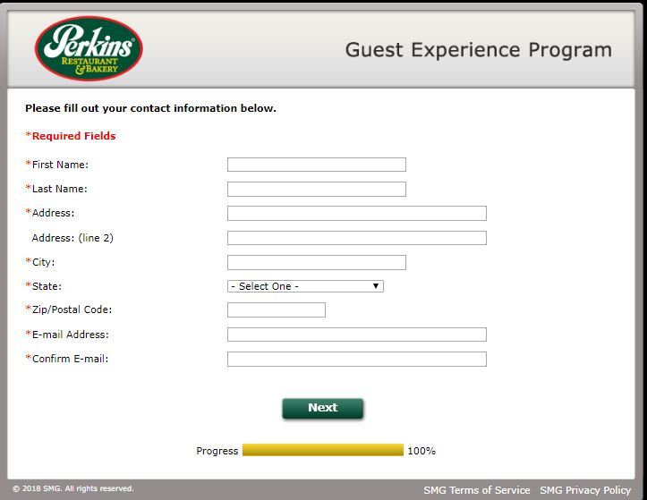 perkins customer service