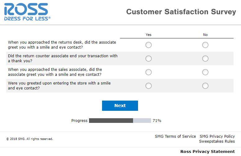 Rosslistens Survey
